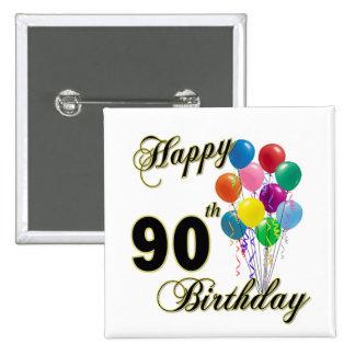 90.os regalos de cumpleaños y ropa felices del cum pin