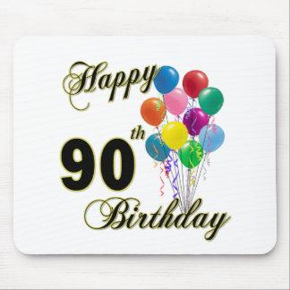 90.os regalos de cumpleaños y ropa felices del cum tapetes de raton