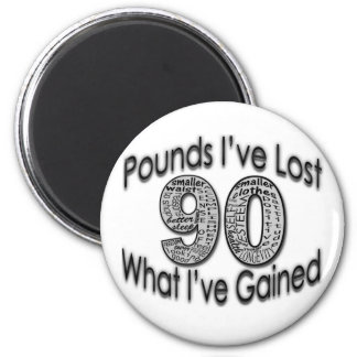 90 Pounds Lost Magnet