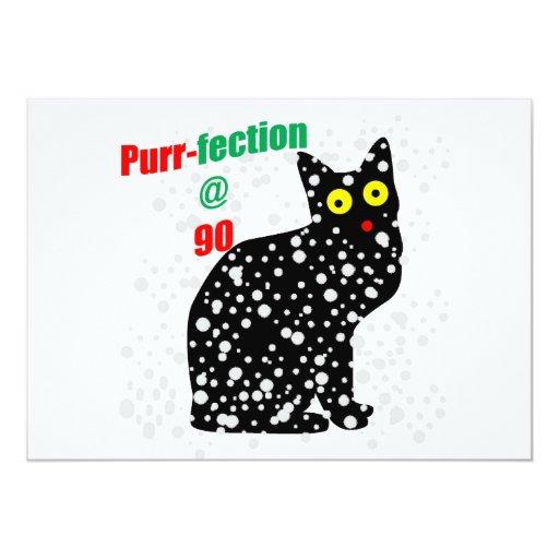 90 Snow Cat Purr-fection Card