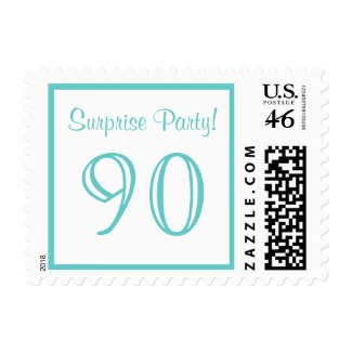 90 Surprise Party Postage stamp