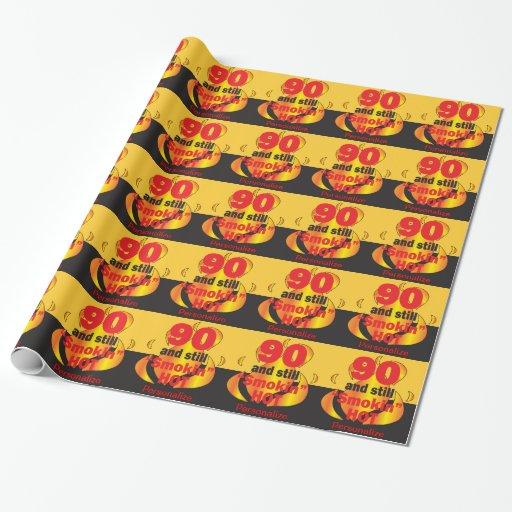 90 todavía Smokin caliente personalizan el papel