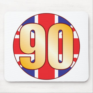 90 UK Gold Mouse Pad