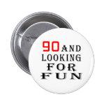 90 y buscar diseños del cumpleaños de la diversión pin