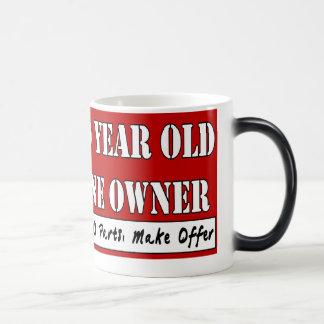 90 Year Old, One Owner - Needs Parts, Make Offer Magic Mug