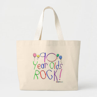 90 Year Olds Rock Tote Bag