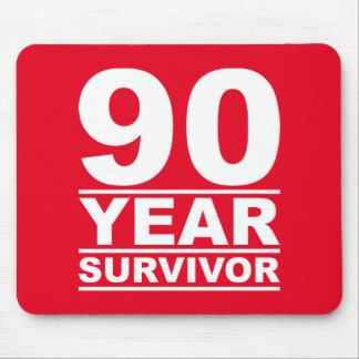 90 year survivor mouse pad