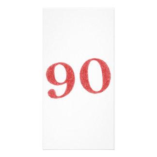 90 years anniversary card