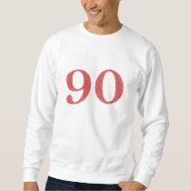 90 years anniversary sweatshirt