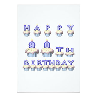 90 Years Old Card
