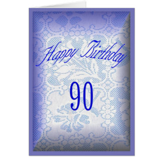 90 Years old Happy Birthday Cards