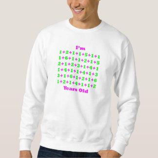 90 Years Old Magenta Gr Sweatshirt