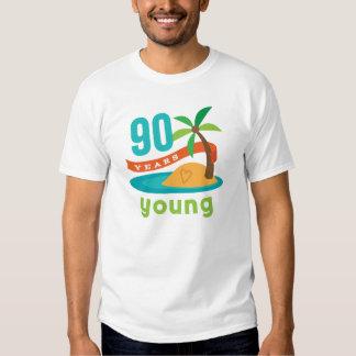 90 Years Young Birthday Gift Shirt