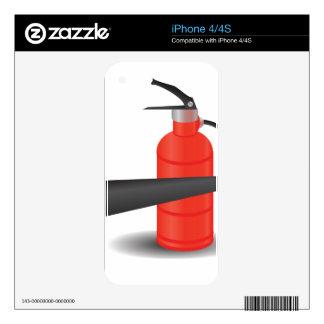 90Fire Extinguisher_rasterized iPhone 4S Skin