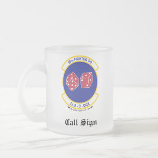 90FS Beer Stien Frosted Glass Coffee Mug