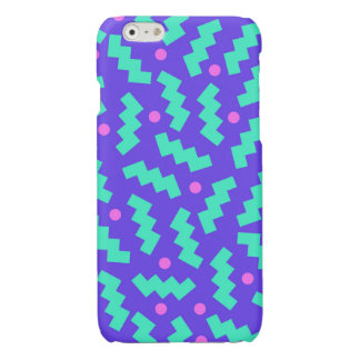 90s Abstract Background 3 Glossy iPhone 6 Case