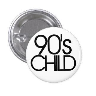 90s child pinback button