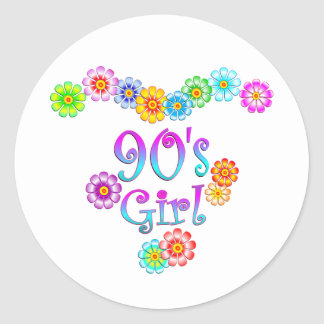 90's Girl Stickers