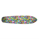 90's Original Mosaic Tile Art Skate Board