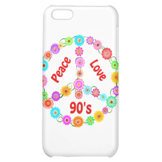 90s Peace Love Case For iPhone 5C