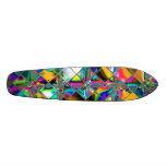 90's Rainbow Original Art Custom Skateboard