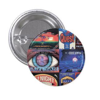 90s rave badge pinback button
