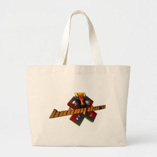 90's Style Jumbo Tote Bag