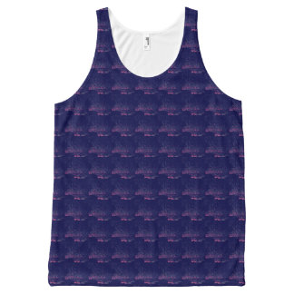 90's Style Stardust All-Over Print Tank Top