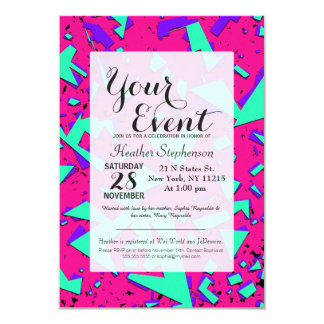 S Party Invitations Templates Life Style By Modernstorkcom - 90s party invitation template