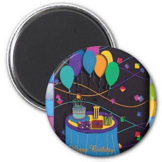 90th 2 inch round magnet