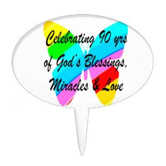 90TH BIRTHDAY BLESSING CAKE TOPPER