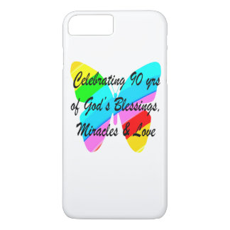 90TH BIRTHDAY BLESSING iPhone 8 PLUS/7 PLUS CASE