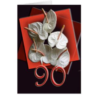 90th Birthday Celebration Invitation