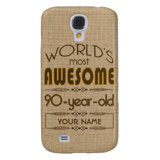 90th Birthday Celebration World Best Fabulous Galaxy S4 Case