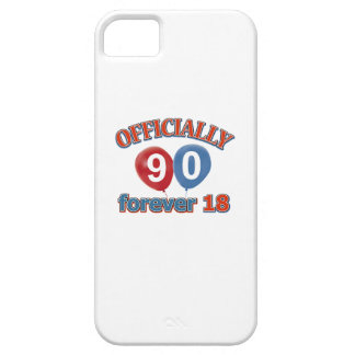 90th birthday designs iPhone 5 cover