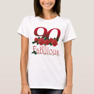 90th birthday flower T-Shirt
