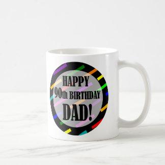 90th Birthday For Dad Coffee Mug