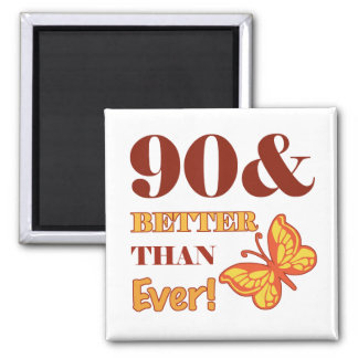 90th Birthday For Her Magnet