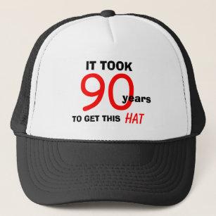 90th Birthday Gag Gifts Hat For Men
