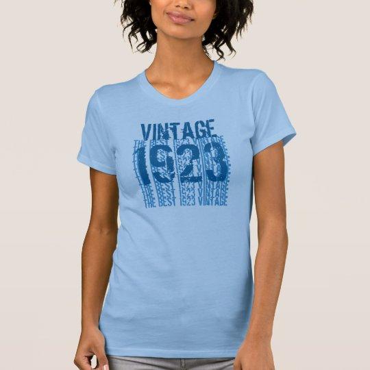 90th Birthday Gift 1923 Vintage Light Soft Pastels T-Shirt
