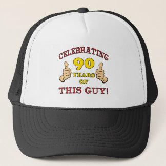 90th Birthday Gift For Him Trucker Hat