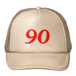90th Birthday Gifts Mesh Hats