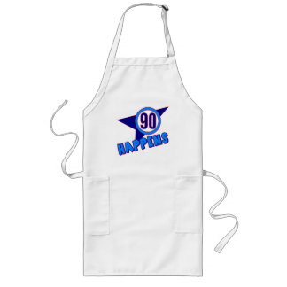 90th Birthday Happens Gifts Aprons
