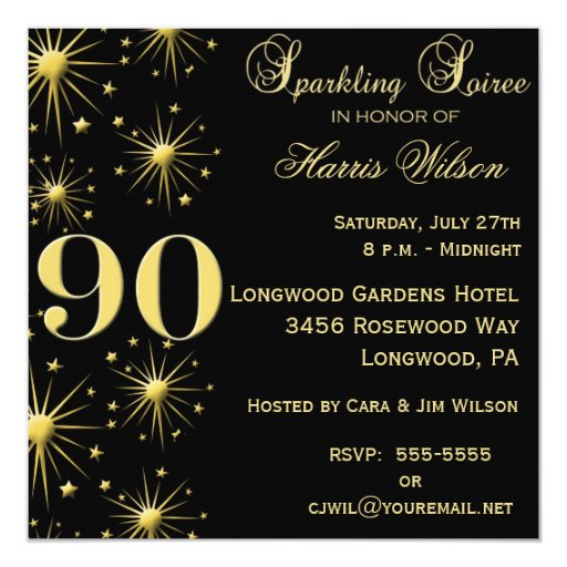 Invitations 90Th Birthday for great invitation layout