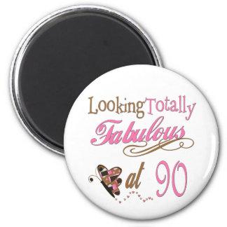 90th Birthday Fridge Magnets