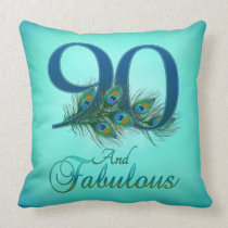 90th Birthday Pillows