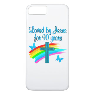 90TH BIRTHDAY PRAYER iPhone 8 PLUS/7 PLUS CASE