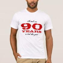 90th Birthday shirt   Customizable year number
