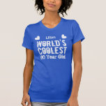 90th Birthday World's Coolest 90 Year Old H90B Tee Shirt