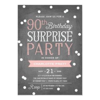 Th Birthday Invitations Th Birthday Announcements Invites - 90th birthday invitation images